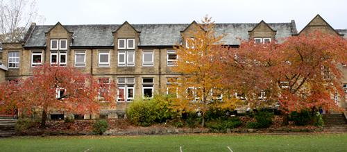 ermysteds grammar school building